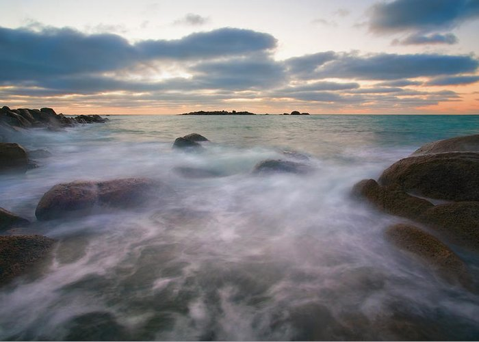 Tides Greeting Card featuring the photograph Ghost Tides by Mike Dawson