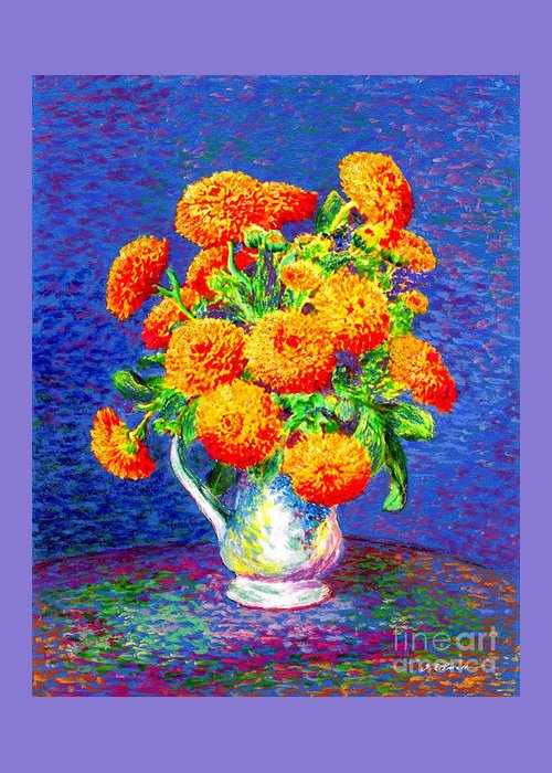 Zinnia Greeting Cards