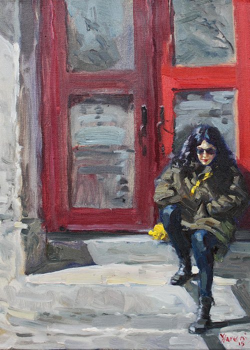 Montreal Paintings Greeting Cards