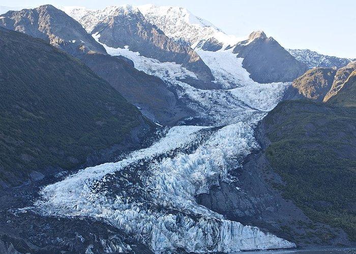 Glacier Greeting Card featuring the photograph Glacier Bay Alaska 2 by Robert Joseph