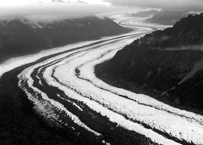 Glaciers Greeting Card featuring the photograph Glacier Highway by Amber Vial