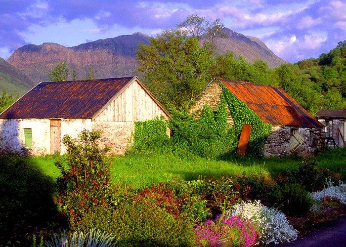 Scotland Greeting Card featuring the photograph Glencoe Village by John McKinlay