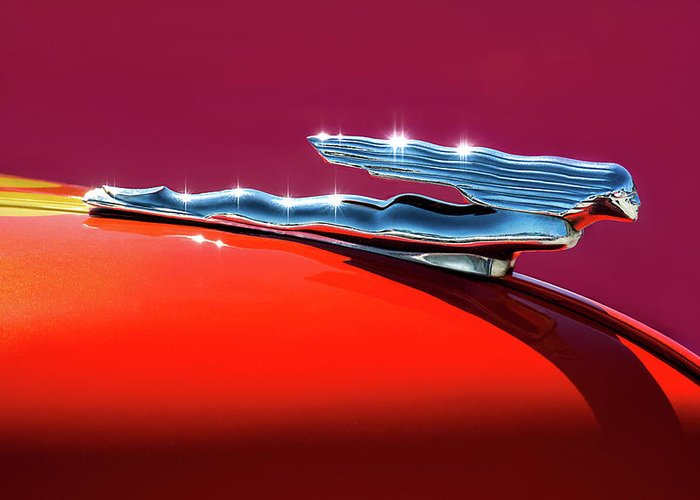 Hood Ornaments Greeting Cards