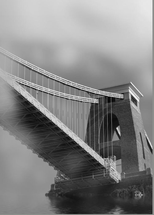 Clifton Suspension Bridge Greeting Card featuring the photograph Global Warming by Brian Roscorla