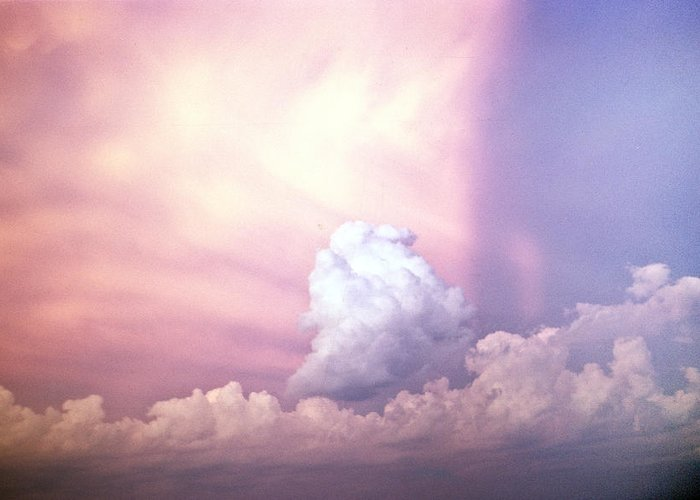 Clouds Greeting Card featuring the photograph Glories Of Heaven by Douglas Barnett
