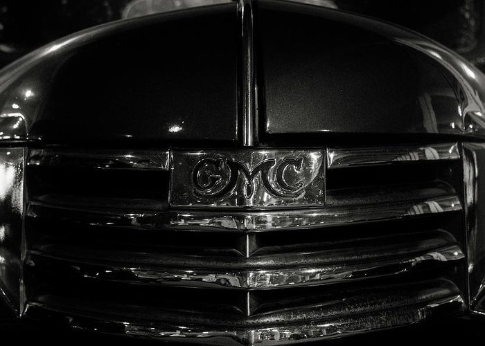 Gmc Greeting Card featuring the photograph 1942 Gmc Truck by Eugene Campbell
