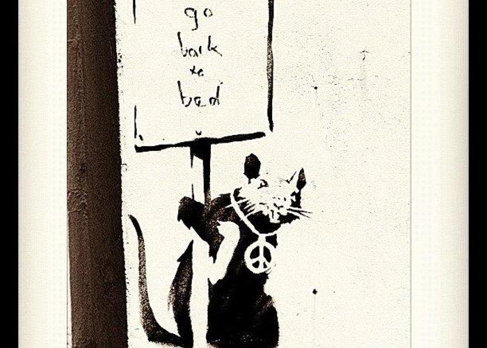 Banksy Greeting Cards