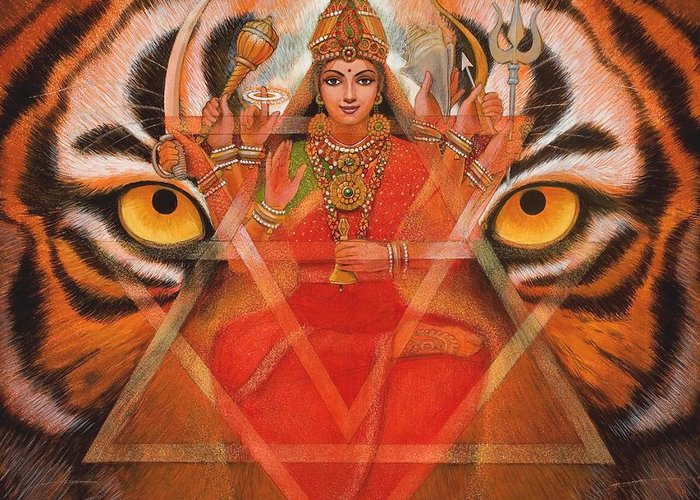 Kali Greeting Cards