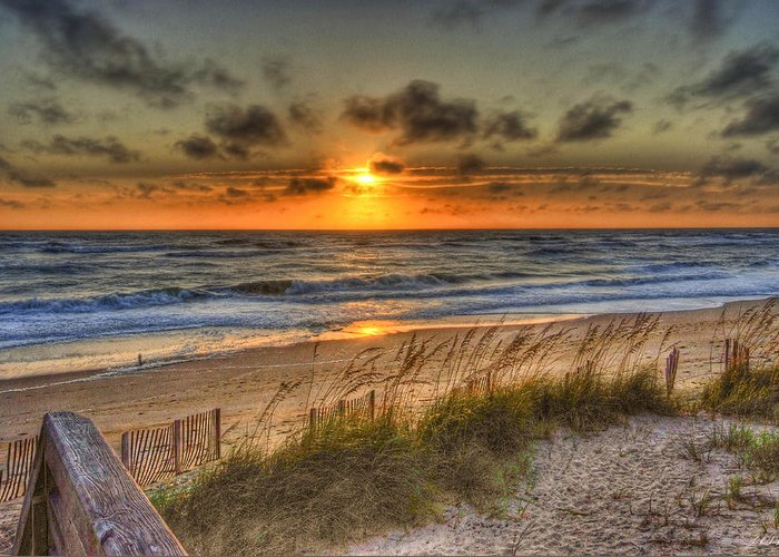 Water Greeting Card featuring the photograph God's Promise Of A New Day by E R Smith