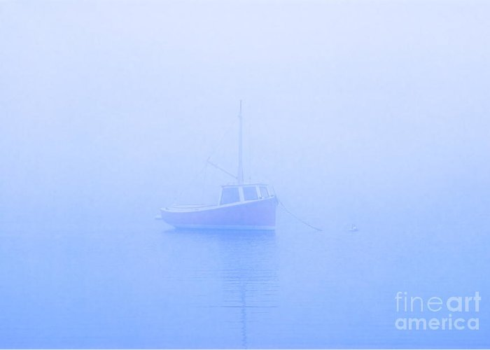 Boat Greeting Card featuring the photograph Gog Boat by John Greim