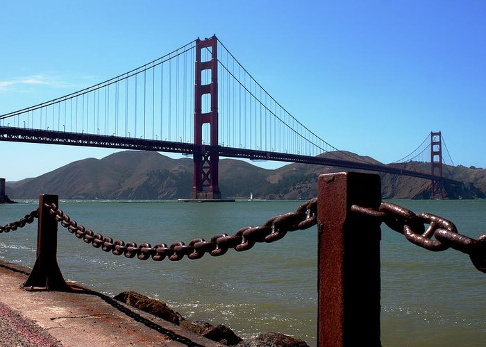 Golden Gate Greeting Card featuring the photograph Golden Gate Bridge by Ivete Basso Photography