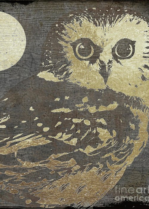 Night Owls Greeting Cards