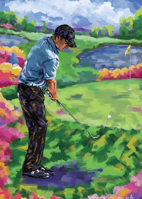 Ernie Els Greeting Cards