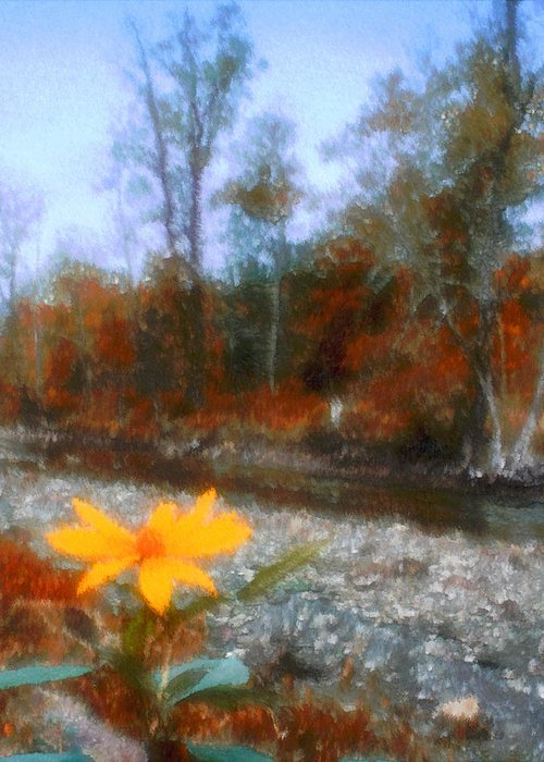 Autumn Greeting Card featuring the photograph Goodbye Summer by Kenneth Krolikowski