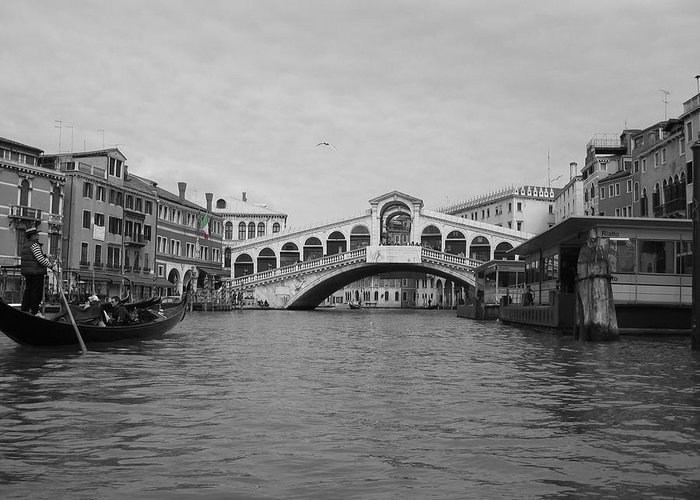 Cityscape Greeting Card featuring the photograph Grand Canal IIi by Dylan Punke