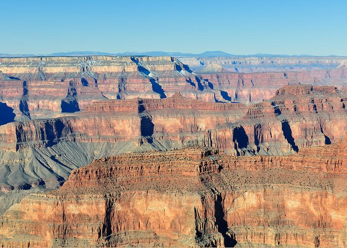 Grand Greeting Card featuring the photograph Grand Canyon Vista by Tom Dowd