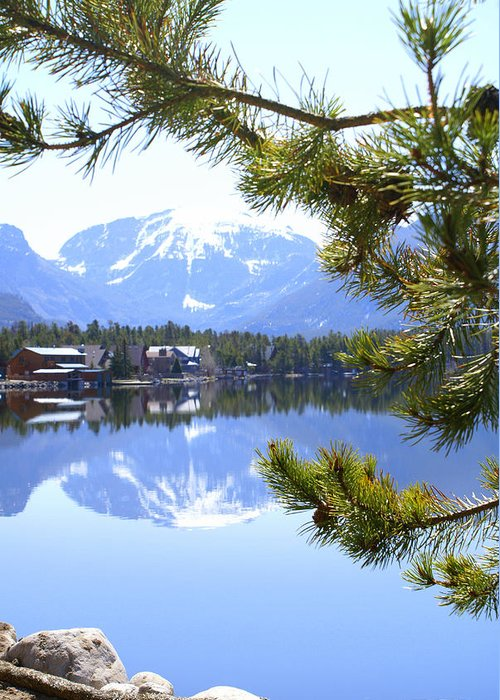 Grand Lake Co Greeting Card featuring the photograph Grand Lake Co Mt Baldy Spring 2007 by Jacqueline Russell