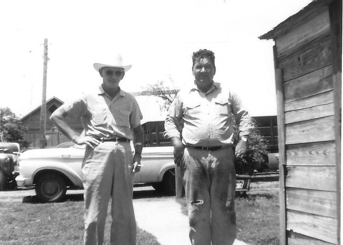 Greeting Card featuring the photograph Grandpa's in OK by Curtis J Neeley Jr