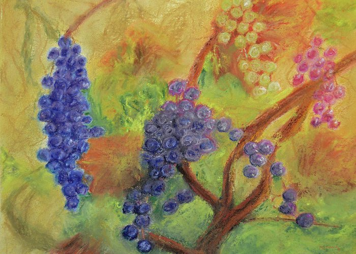 Gamay Paintings Greeting Cards