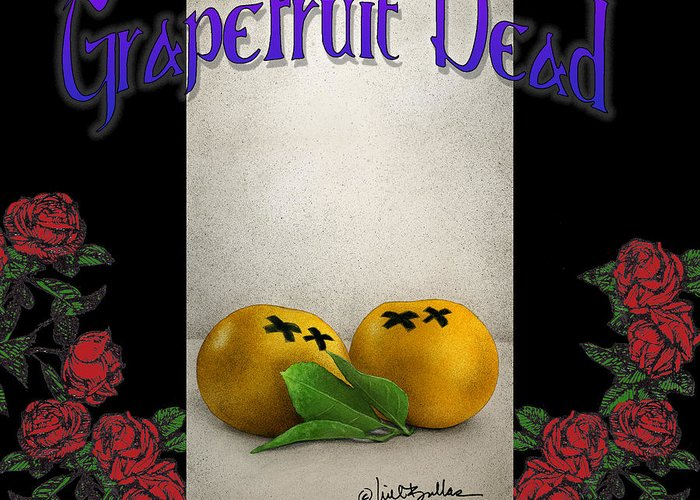 Grapefruit Greeting Cards