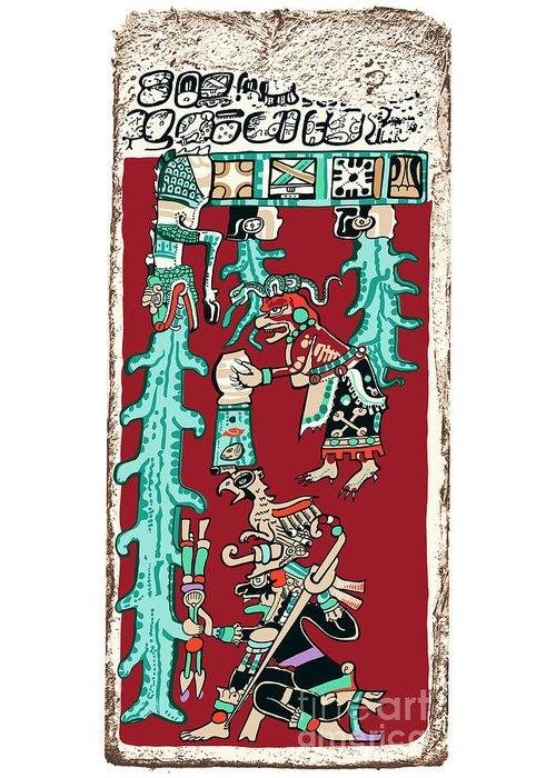 Dresden Codex Greeting Cards