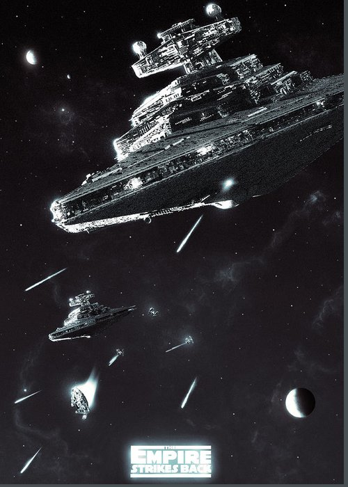 Star Destroyer Greeting Cards