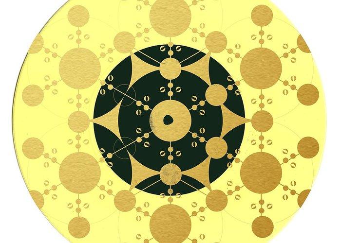 Geometrical Art Digital Art Greeting Cards