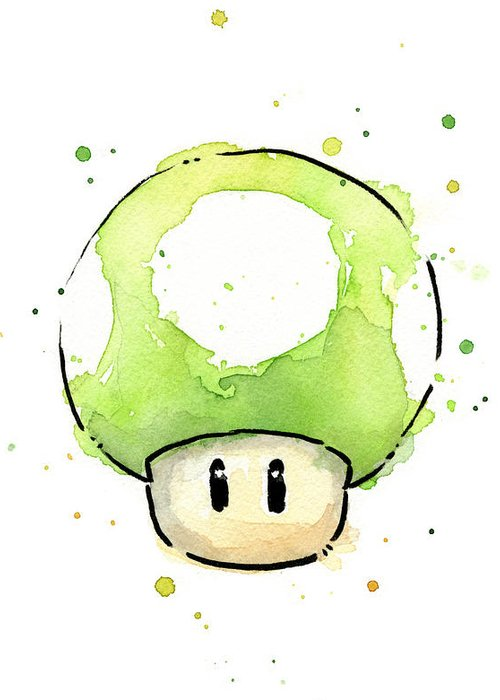 Mushroom Greeting Cards