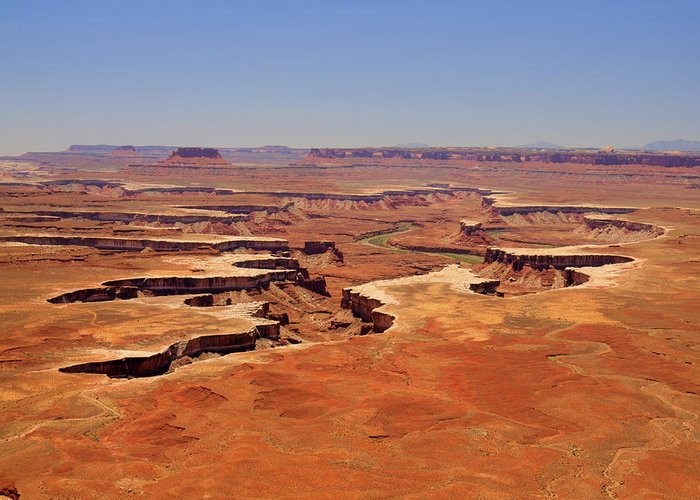 Canyonlands Greeting Card featuring the photograph Green River Overlook by Phil Stone