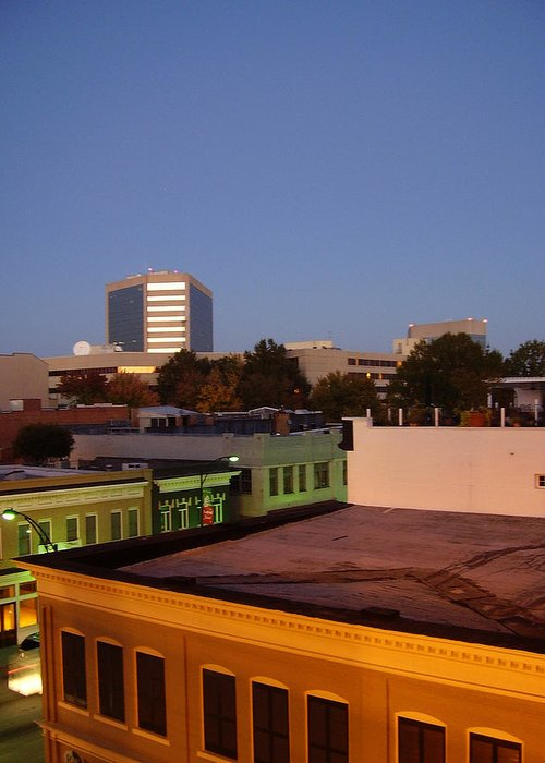 Greenville Greeting Card featuring the photograph Greenville by Flavia Westerwelle