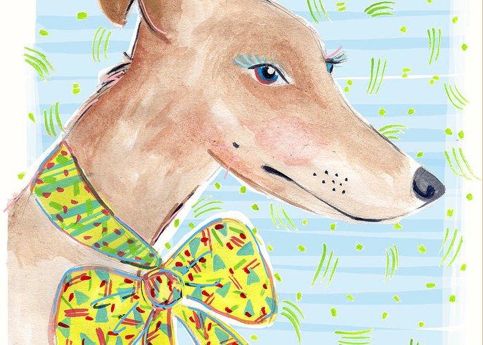 Eyelash Drawings Greeting Cards