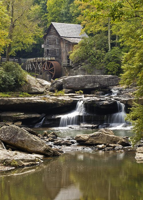 Grist Mill Greeting Card featuring the photograph Grist Mill No. 1 by Harry H Hicklin