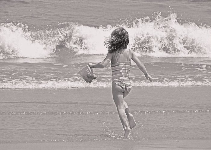 Water Greeting Card featuring the photograph Growing Young by JAMART Photography