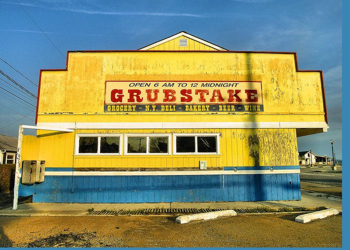 Shop Greeting Card featuring the photograph Grubstake by Steven Ainsworth