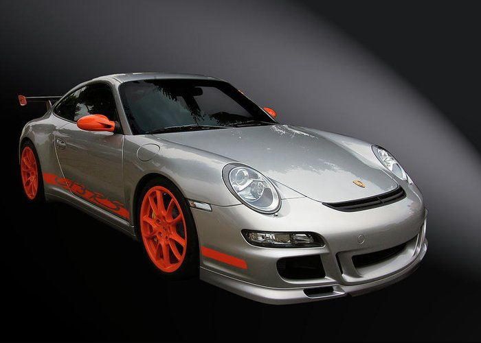 Porsche Greeting Card featuring the photograph Gt3 Rs by Bill Dutting