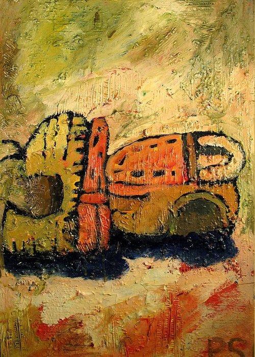 Van Gogh Influence Greeting Cards