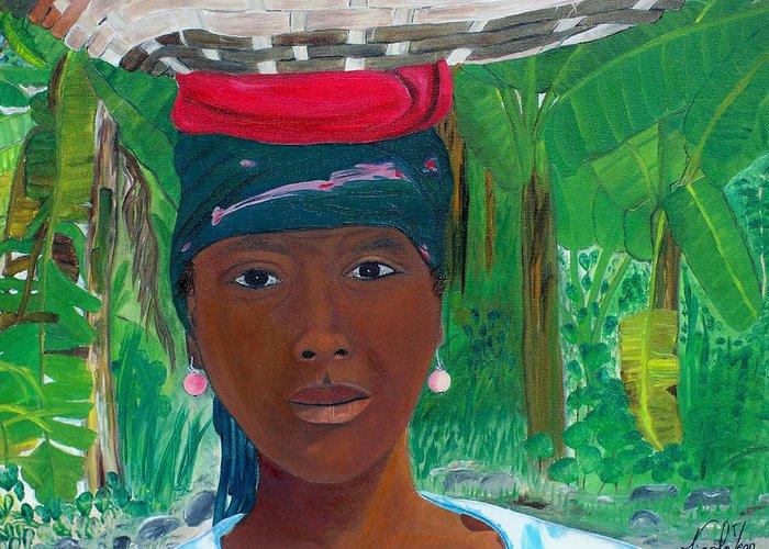 Jacmel Haiti Greeting Cards