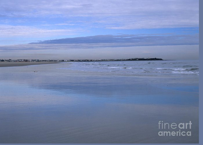 Beach Greeting Card featuring the photograph Hampton Beach New Hampshire Usa by Erin Paul Donovan