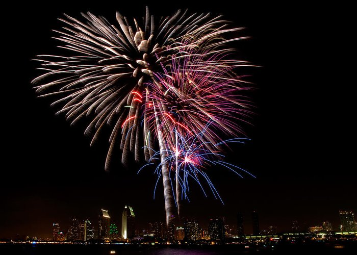 Fourth Of July Greeting Card featuring the photograph Happy Fourth Of July by Thanh Thuy Nguyen