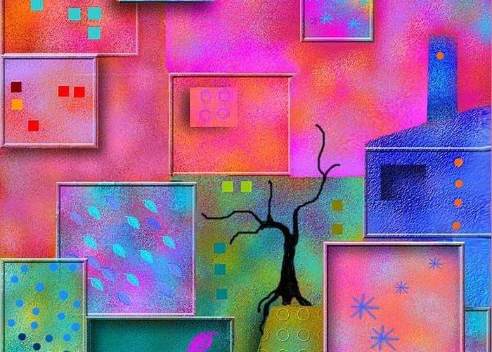 Valentine Card Greeting Card featuring the digital art Happy Valentine by Carola Ann-Margret Forsberg