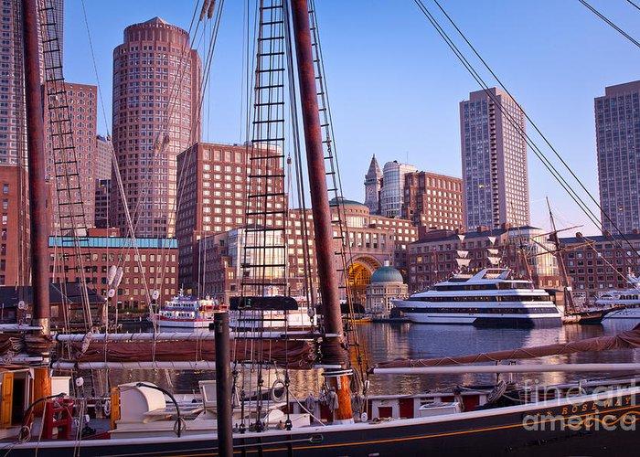 Sail Boston 09 Greeting Cards