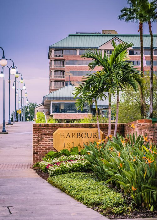 Harbour Island Greeting Card featuring the photograph Harbour Island Retreat by Carolyn Marshall