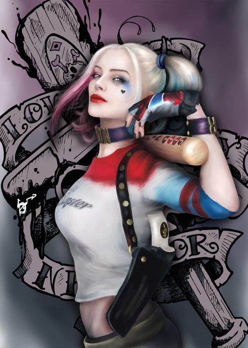 Harley Quinn Greeting Cards