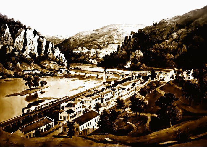 Harpers Ferry Greeting Card featuring the photograph Harpers Ferry by Bill Cannon