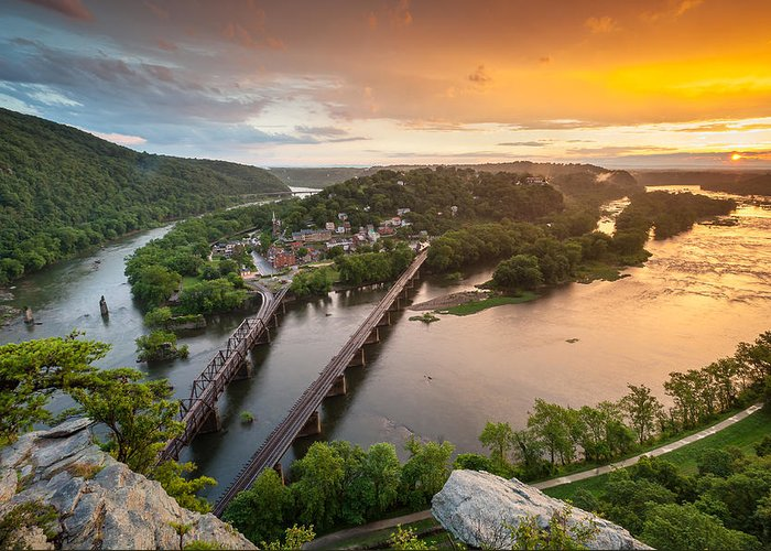 Harpers Ferry Photographs Greeting Cards