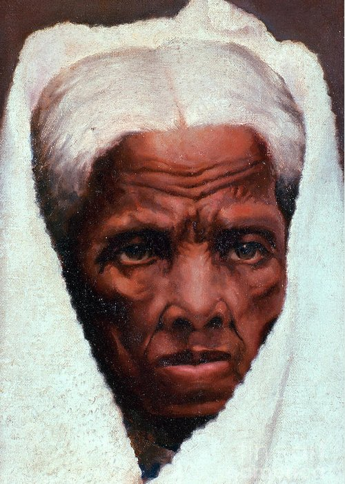 History Greeting Card featuring the photograph Harriet Tubman, African-american by Photo Researchers