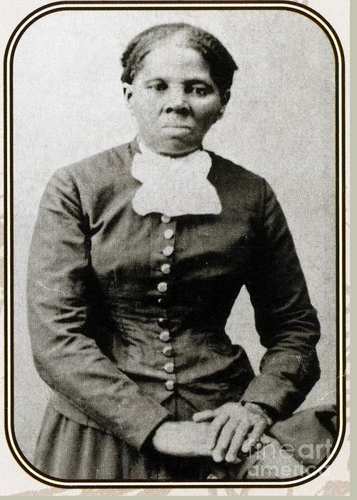 History Greeting Card featuring the photograph Harriet Tubman, American Abolitionist by Photo Researchers