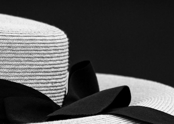 Photograph Greeting Card featuring the photograph Hat by John Hermann