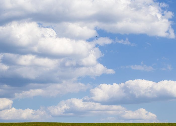 Sky Greeting Card featuring the photograph Head In The Clouds by Keith May