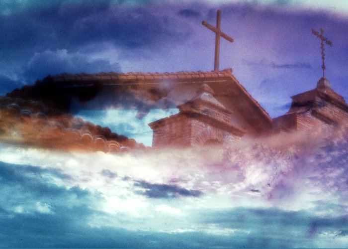Heaven Greeting Card featuring the photograph Heaven Awaits by Gary Brandes